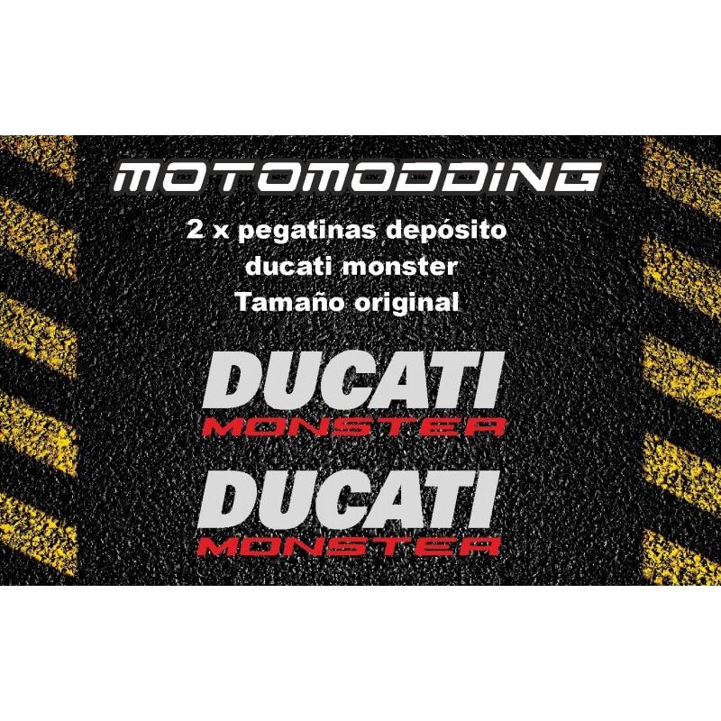 Pegatinas depósito Ducati monster 696