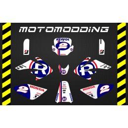 Pegatinas malcor racer repsol honda motogp réplica HONDA CRF70