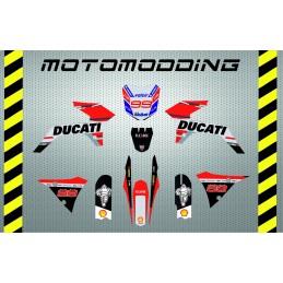 Kit pegatinas Malcor super racer réplica ducati 2018 Jorge Lorenzo
