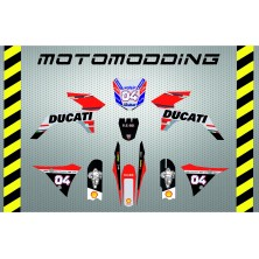 Kit pegatinas Malcor super racer réplica ducati 2018 Andrea Dovicioso