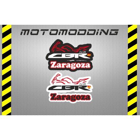 Pegatinas club cbr Zaragoza.