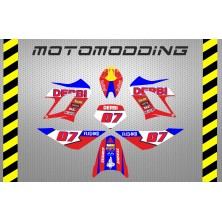 Kit pegatinas Derbi drd racing 85 anniversary