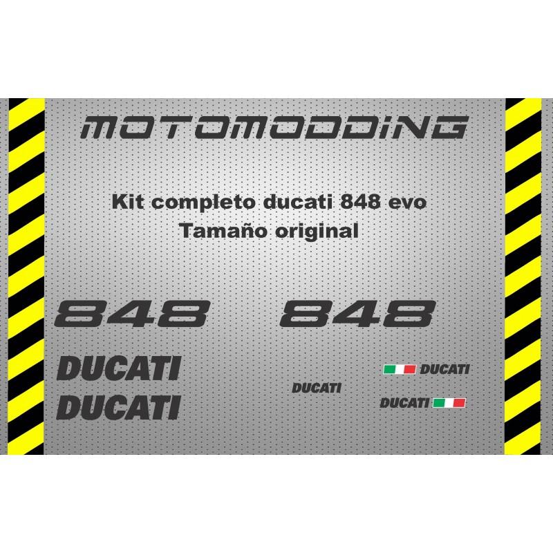 Pegatinas Ducati 848