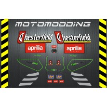 Adhesivos aprilia rs 125 1998 chesterfield
