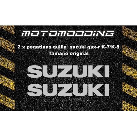 Pegatinas quilla suzuki gsx-r k7/k8