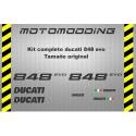 Pegatinas Ducati 848 EVO