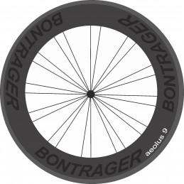 Pegatinas Bontrager para llantas de bici carretera
